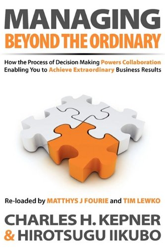 9781608440481: Managing Beyond the Ordinary