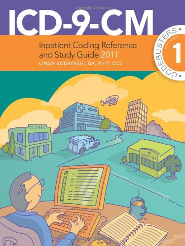 9781608445707: ICD-9-CM Inpatient Coding Reference and Study Guide