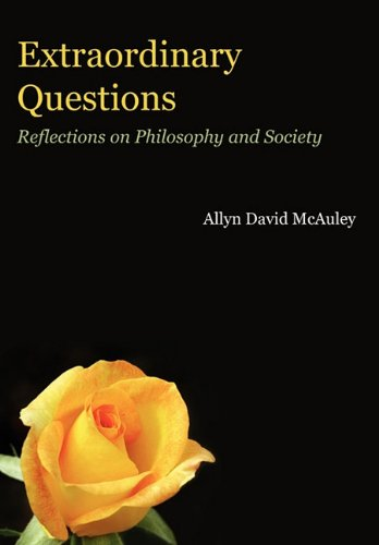9781608446810: Extraordinary Questions: Reflections on Philosophy and Society