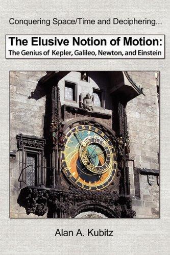 9781608449880: The Elusive Notion of Motion: The Genius of Kepler, Galileo, Newton, and Einstein