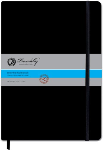 9781608630707: Piccadilly Large Ruled SoftCover Notebook (Essential Notebooks)