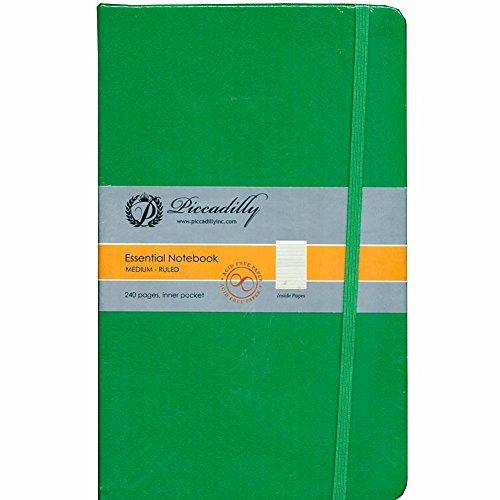 9781608637973: Green Essential Notebook-Medium-Ruled-Hardcover