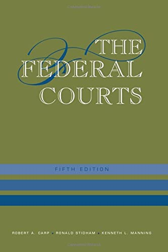 9781608714117: The Federal Courts