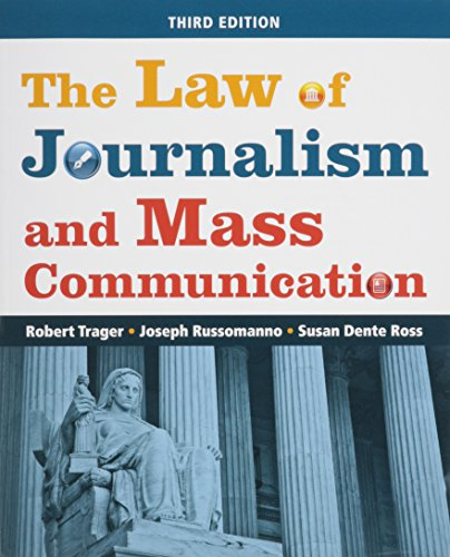 9781608716692: The Law of Journalism and Mass Communication