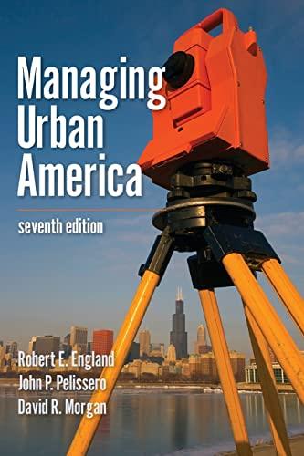 9781608716722: Managing Urban America