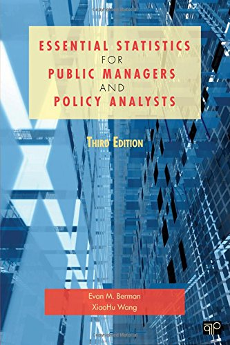 9781608716777: Essential Statistics for Public Managers and Policy Analysts, 3rd Edition