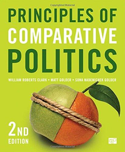 9781608716791: Principles of Comparative Politics