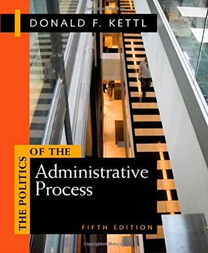 9781608716883: Politics of the Administrative Process