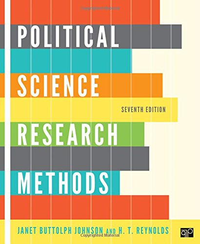 9781608716890: Political Science Research Methods