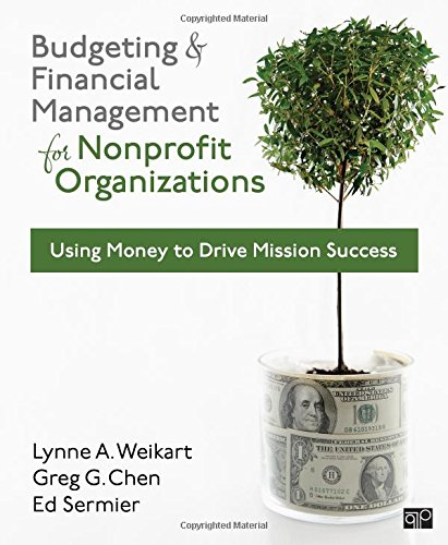 9781608716937: Budgeting and Financial Management for Nonprofit Organizations