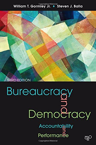 9781608717170: Bureaucracy and Democracy: Accountability and Performance, 3rd Edition