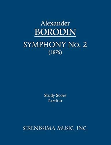 Symphony No.2: Study score: Borodin, Alexander