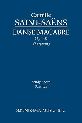 9781608740185: Danse macabre, Op. 40 - Study score