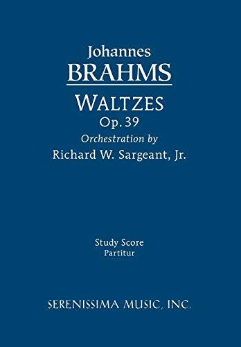 9781608740406: Waltzes, Op. 39: Study score