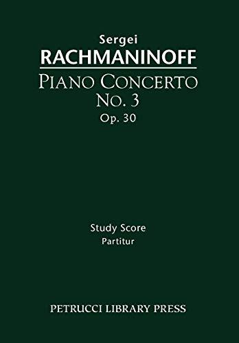 9781608740574: Piano Concerto No.3, Op.30: Study score