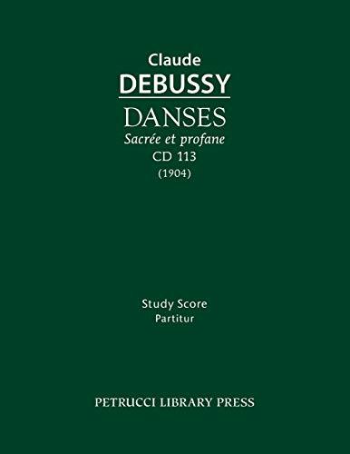 9781608741731: Danses sacrée et profane, CD 113: Study score
