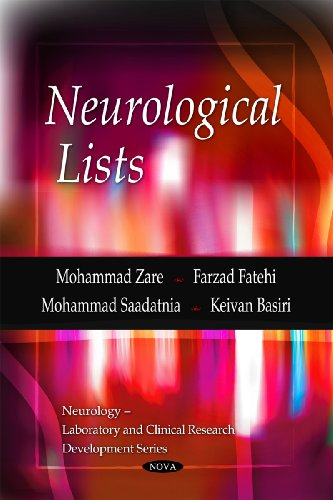 Neurological Lists: Mohammad Zare