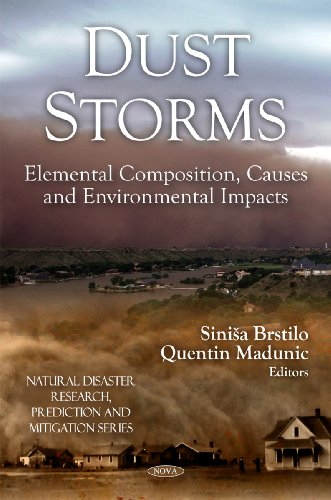 9781608764563: Dust Storms: Elemental Composition, Causes and Environmental Impacts (Natural Disaster Research, Prediction and Mitigation)