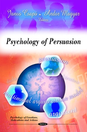 9781608765904: Psychology of Persuasion (Psychology of Emotions, Motivations and Actions)