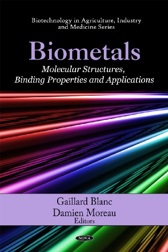 Biometals: Molecular Structures, Binding Properties and Applications (Biotechnology in Agriculture,...