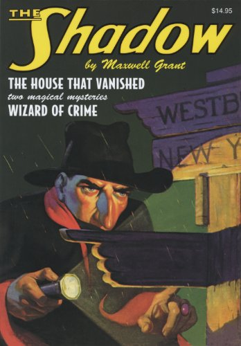 "9781608770465: The Shadow Double-Novel Pulp Reprints #46: ""The House That Vanished"" & ""Wizard of Crime"""