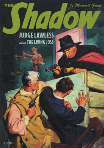 "9781608770588: The Shadow Double-Novel Pulp Reprints #51: ""The Living Joss"" & ""Judge Lawless"""