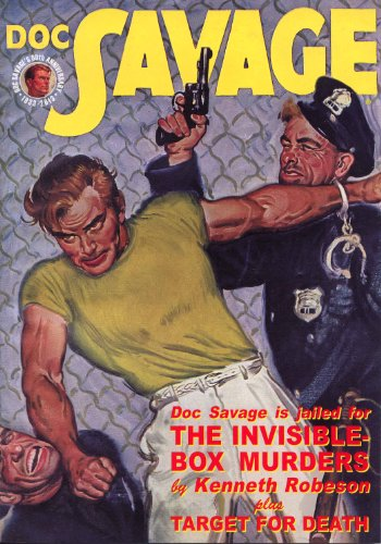 9781608771141: Doc Savage #67 : The Invisible Box Murders & Target for Death
