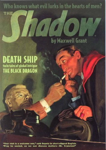 9781608771226: The Shadow #76 : Death Ship / The Black Dragon