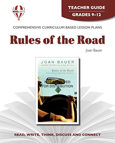 9781608781027: Rules of the Road - Teacher Guide by Novel Units, Inc.