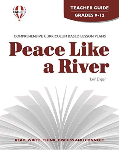 9781608781188: Peace Like A River - Teacher Guide by Novel Units, Inc.