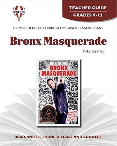 9781608787203: Bronx Masquerade - Teacher Guide by Novel Units