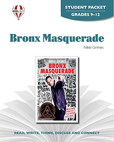 9781608787210: Bronx Masquerade - Student Packet by Novel Units