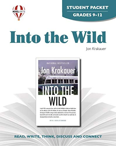 9781608787234: Into The Wild - Student Packet by Novel Units, Inc.