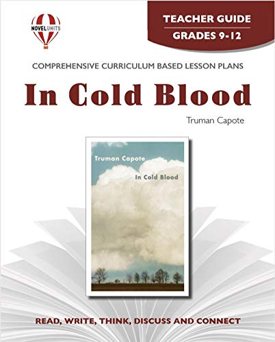 9781608787326: In Cold Blood - Teacher Guide by Novel Units, Inc.