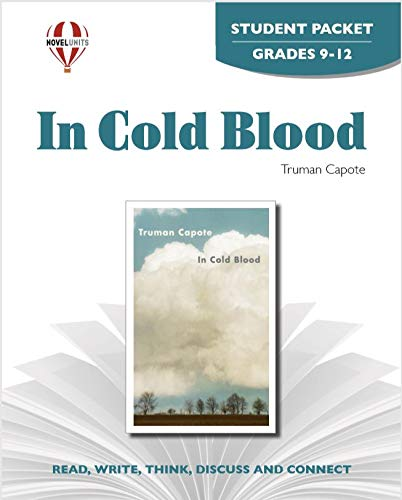 9781608787333: In Cold Blood - Student Packet by Novel Units