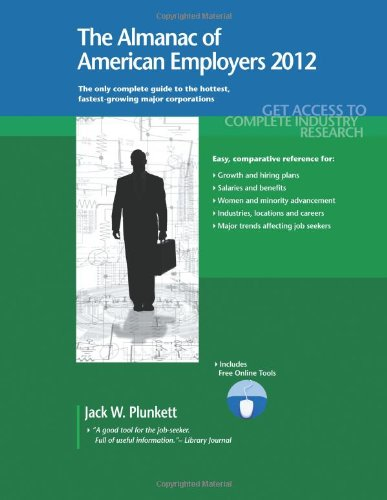 9781608796526: The Almanac of American Employers 2012
