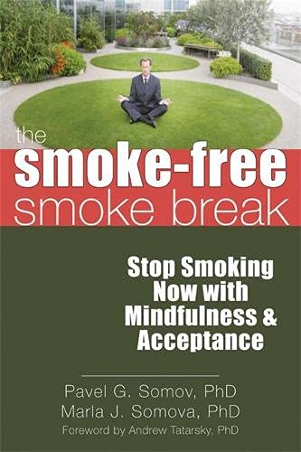 9781608820016: The Smoke-Free Smoke Break: Stop Smoking Now with Mindfulness and Acceptance