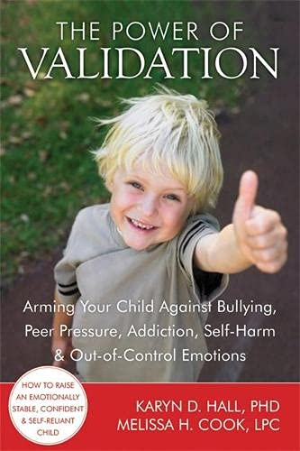 9781608820337: The Power of Validation: Arming Your Child Against Bullying, Peer Pressure, Addiction, Self-Harm, and Out-of-Control Emotions