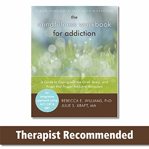 The Mindfulness Workbook for Addiction: A Guide to Coping with the Grief, Stress and Anger that ...