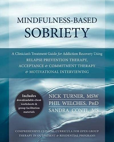 Mindfulness-Based Sobriety: A Clinician's Treatment Guide for Addiction Recovery Using Relapse ...