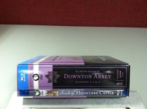 9781608839391: Downton Abbey Seasons 1 - 3: Original and Unedited U.K. Versions - Blu-ray