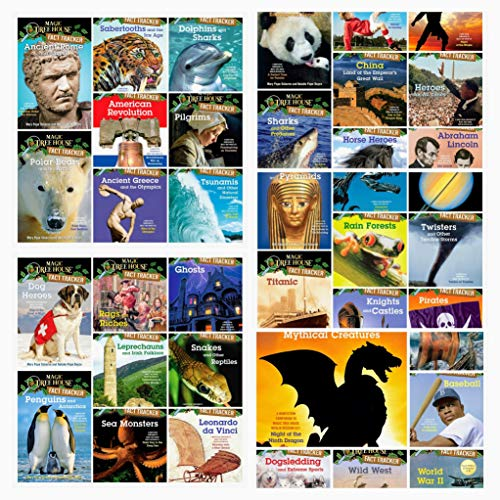 9781608844104: Magic Tree House Fact Trackers Complete 31 Book Collection