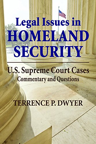 9781608850709: Legal Issues in Homeland Security