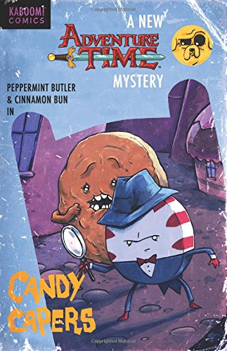 9781608863655: Adventure Time: Candy Capers
