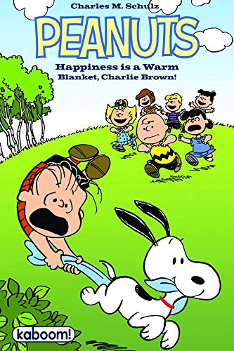 Peanuts Happiness is a Warm Blanket, Charlie Brown (1608866823) by Charles Schulz; Stephan Pastis