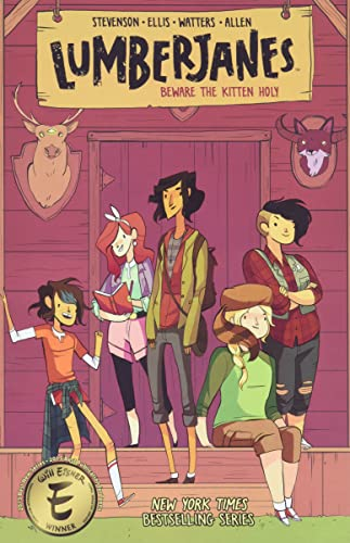 Beware the Kitten Holy 1 Lumberjanes