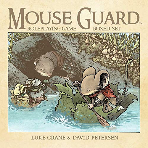 9781608867554: Mouse Guard Roleplaying Game Box Set, 2nd Ed.