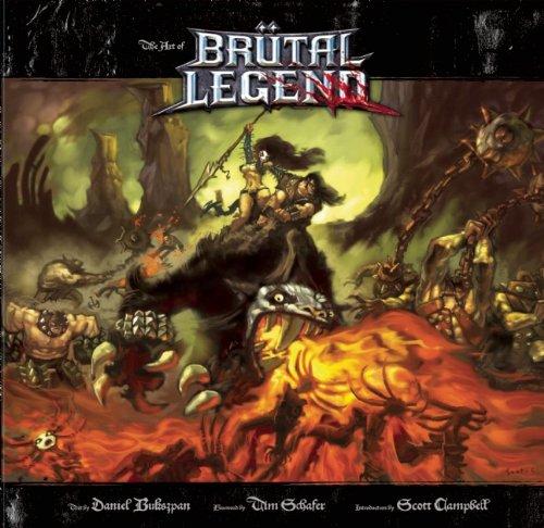 9781608870011: The Art of Brutal Legend