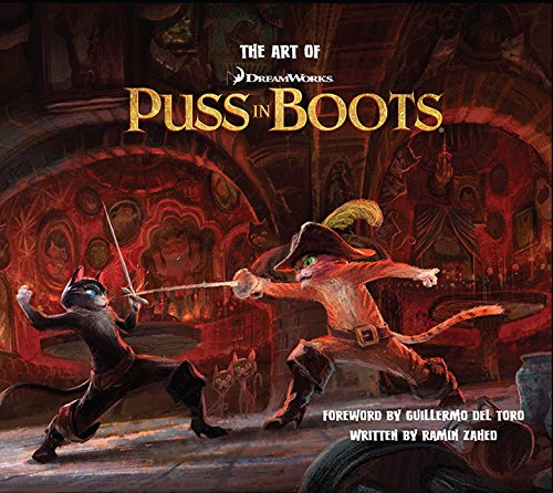 9781608870349: The Art of DreamWorks Puss in Boots