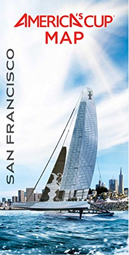 9781608872497: San Francisco America's Cup Map